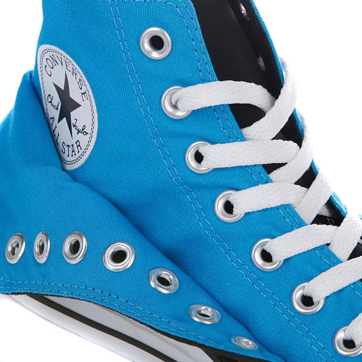 Купить кеды высокие Converse Chuck Taylor Double Upper Hi Black Blue ... ff2989a39d5