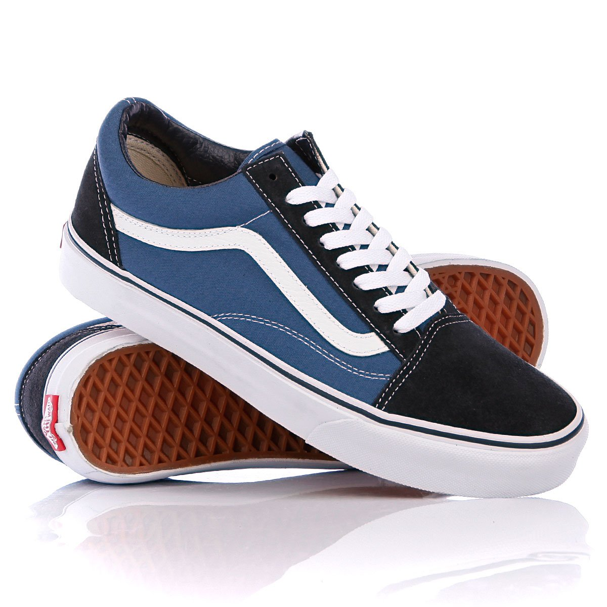 d96e4c287 Купить кеды Vans Old Skool Navy (280413vans17) в интернет-магазине  Proskater.kz