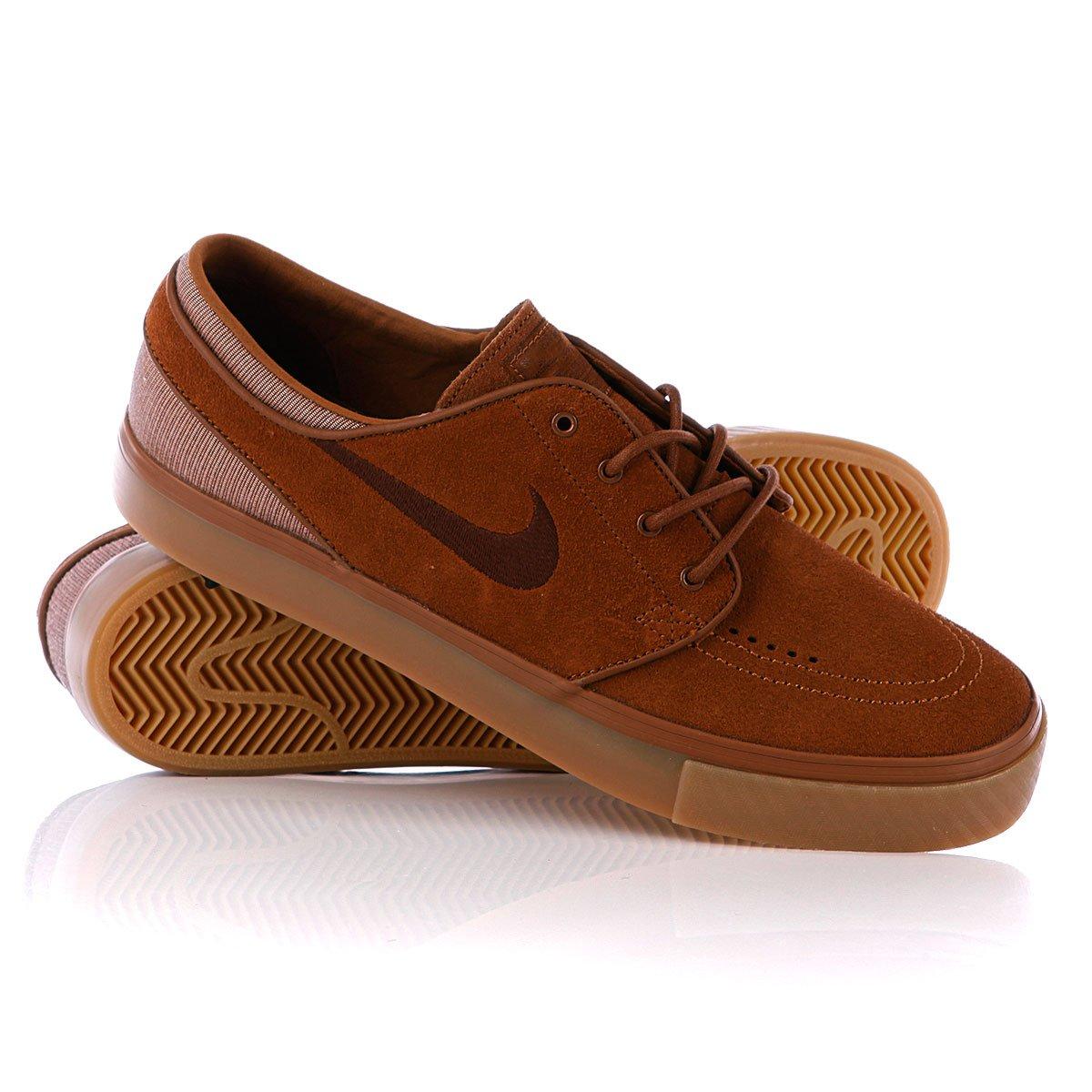 6cddfedd Купить кеды Nike Zoom Stefan Janoski Light British Tan/Dark Field ...