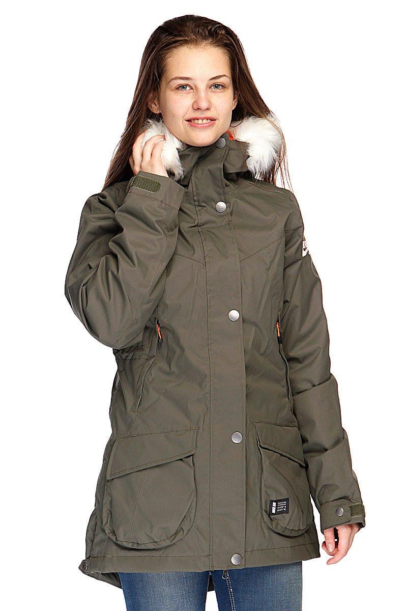 f1daf22a Купить куртку женскую Nike Sb Hudson Women Parka Khaki (615762-325) в  интернет-магазине Proskater.by