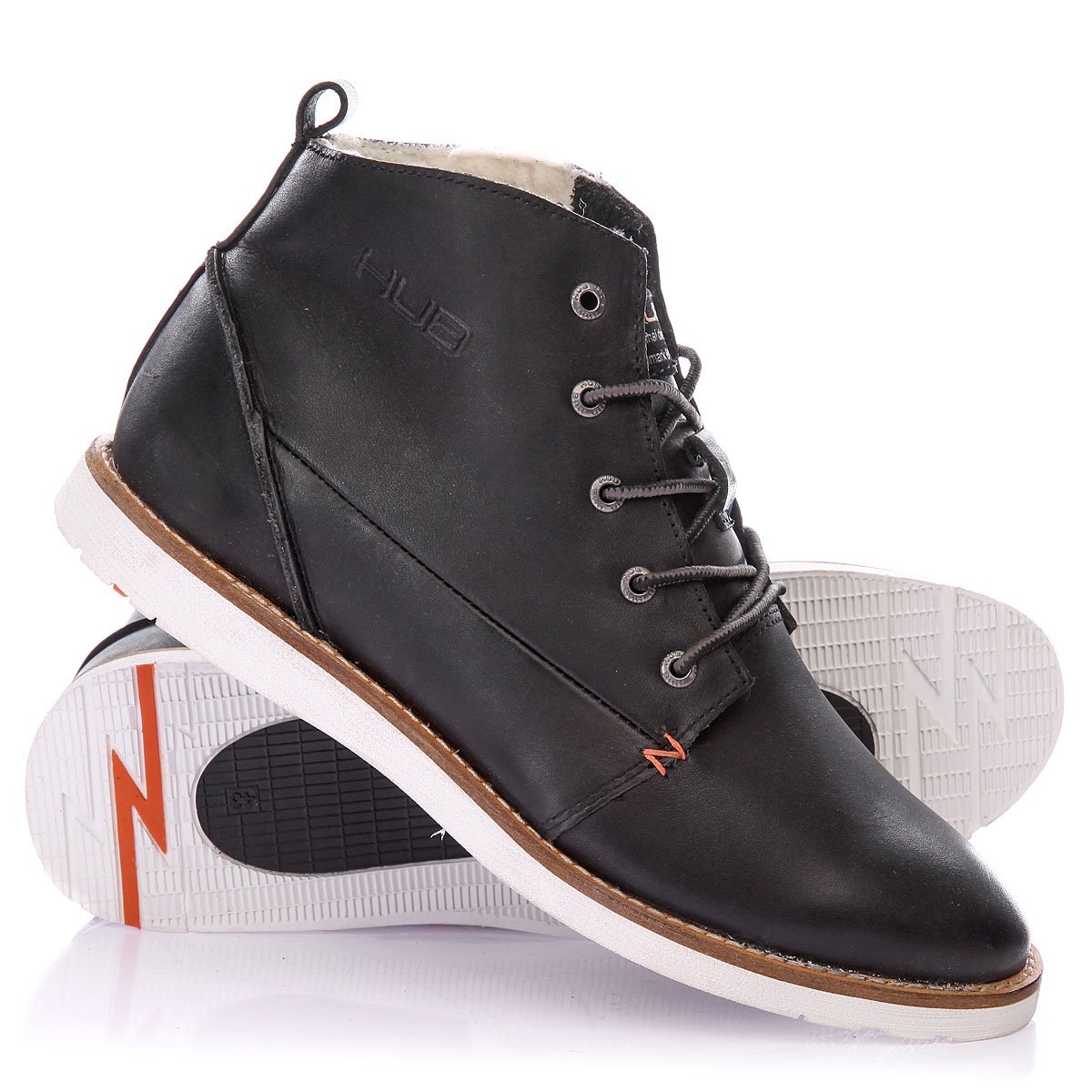 Ботинки мужские hub
