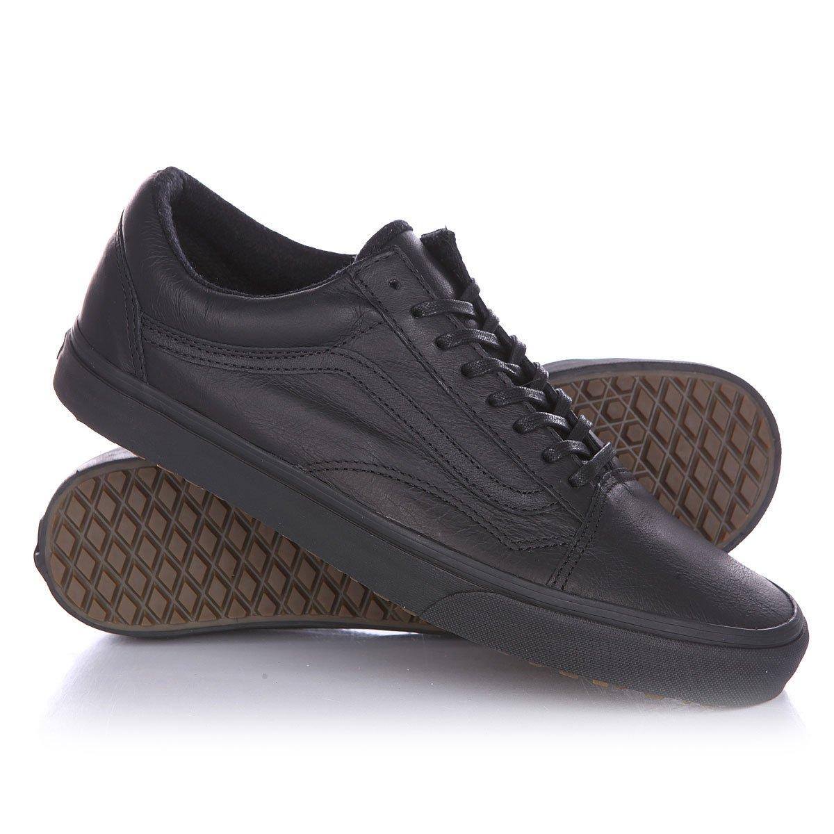Купить кеды низкие Vans Old Skool Mte Black Leather в интернет-магазине  Proskater.by 0d4e7956d29