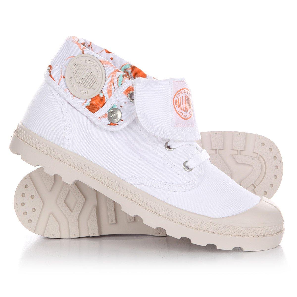 Купить ботинки низкие женские Palladium Baggy Low Lp Tw P White Cement Gray  в интернет-магазине Proskater.by a8ec60084e637