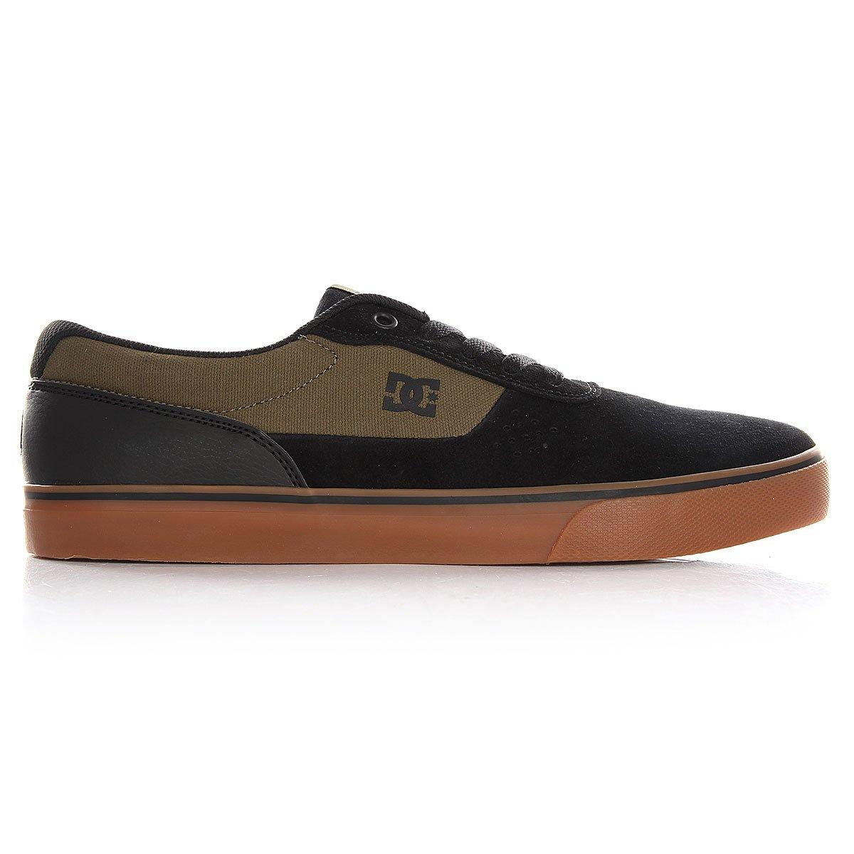 Низкие Кеды Dc Switch S M Shoe Fw17 Black/orange 7,5