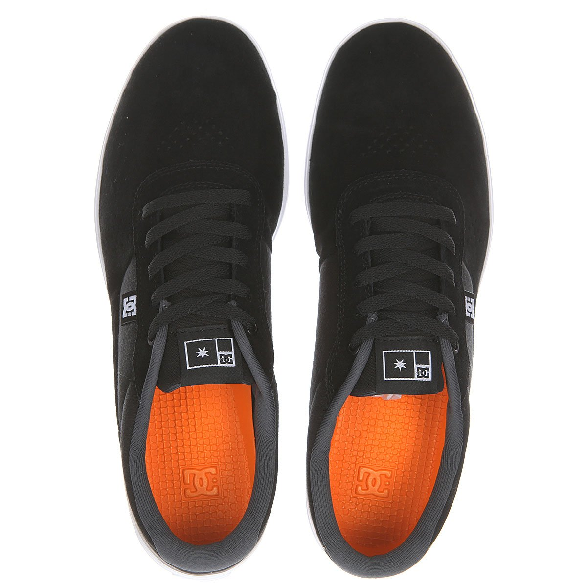 Низкие Кеды Dc Switch S M Shoe Fw17 Black/orange 7,5
