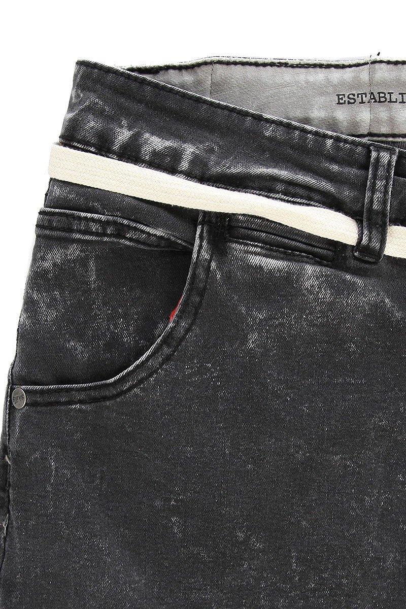 38435b6c21d Купить джинсы узкие Skills Slim Flex Dark Grey в интернет-магазине ...
