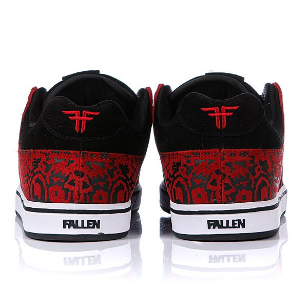 Обувь fallen trooper se black/oxblood/zebra цена: 2870 р отзывы - обувь fallen trooper se black/oxblood/zebra быстрая