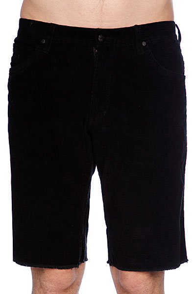 Джинсовые мужские шорты Fallen Cord Short Black<br><br>Цвет: черный<br>Тип: Шорты джинсовые<br>Возраст: Взрослый<br>Пол: Мужской