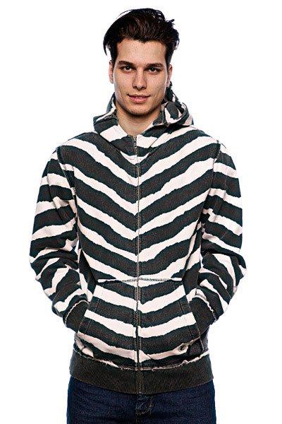 Толстовка Fallen Cobra Hood Fleece Black/White/Striker