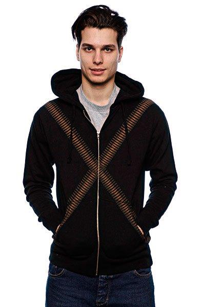 Толстовка Fallen Desperado Zip Hood Black<br><br>Цвет: черный<br>Тип: Толстовка классическая<br>Возраст: Взрослый<br>Пол: Мужской