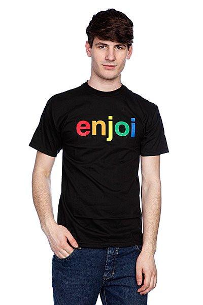 Футболка Enjoi Spectrum Black<br><br>Цвет: черный<br>Тип: Футболка<br>Возраст: Взрослый<br>Пол: Мужской