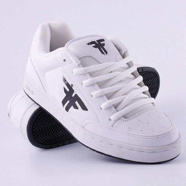 Кеды кроссовки низкие Fallen Reliant White/Black/Overspray