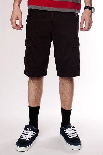 Классические мужские шорты Fallen Thomas Sign Cargo Short Dk.Chocolate<br><br>Цвет: коричневый<br>Тип: Шорты классические<br>Возраст: Взрослый<br>Пол: Мужской