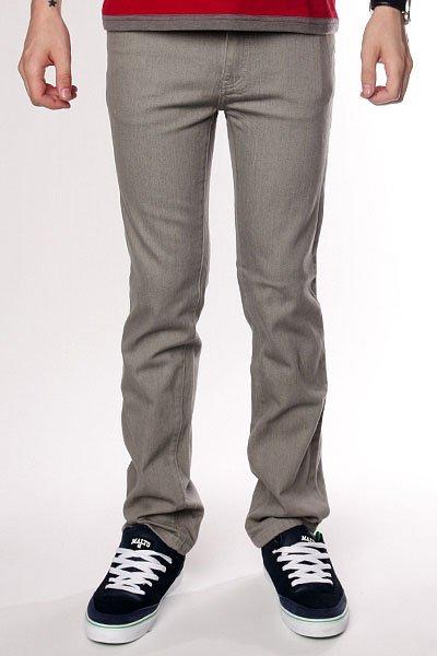 Джинсы узкие Zero Jeans Grey<br><br>Цвет: серый<br>Тип: Джинсы узкие<br>Возраст: Взрослый<br>Пол: Мужской