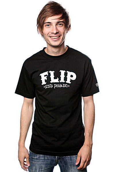 Футболка Flip Cholo Black<br><br>Цвет: черный<br>Тип: Футболка<br>Возраст: Взрослый<br>Пол: Мужской