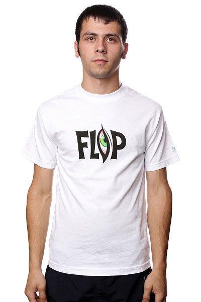 цена Футболка Flip Lifer White онлайн в 2017 году