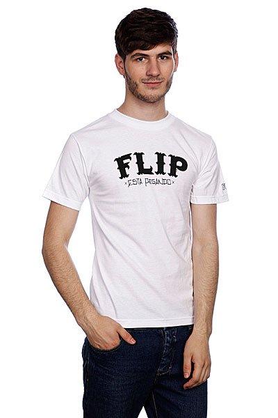 Футболка Flip Cholo White<br><br>Цвет: белый<br>Тип: Футболка<br>Возраст: Взрослый<br>Пол: Мужской