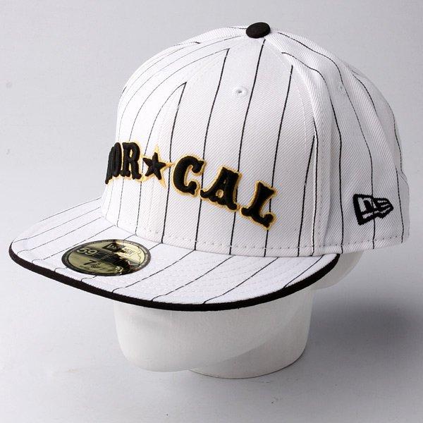 Бейсболка New Era Nor Cal Nautical NewEra White/Black Pinstripe