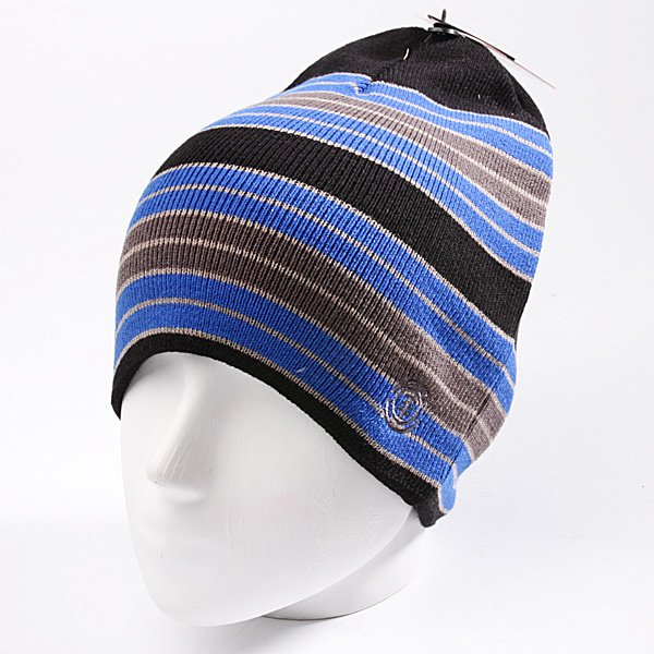 Шапка Element Strip Beanie Black
