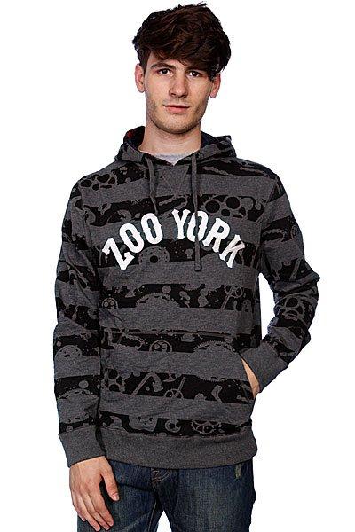 Кенгуру Zoo York Bk Bike Gang Vintage Heather<br><br>Цвет: серый<br>Тип: Толстовка кенгуру<br>Возраст: Взрослый<br>Пол: Мужской
