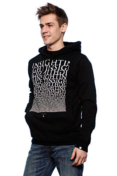 Толстовка Insight Type Fade Hood Black
