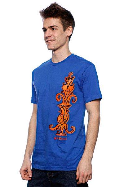 Футболка Dekline Pastras Totem Royal Blue<br><br>Цвет: синий<br>Тип: Футболка<br>Возраст: Взрослый<br>Пол: Мужской