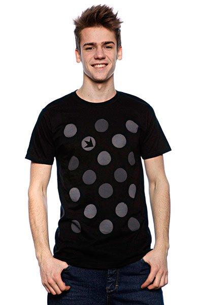 Футболка Dekline New Polka Dots Black<br><br>Цвет: черный<br>Тип: Футболка<br>Возраст: Взрослый<br>Пол: Мужской