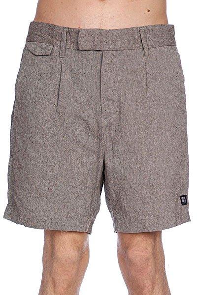 Классические мужские шорты Insight Sartorial Mid Grey Slub шорты джинсовые insight jeans grey acid