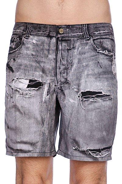 Пляжные мужские шорты Insight Stone Free Black<br><br>Цвет: серый<br>Тип: Шорты пляжные<br>Возраст: Взрослый<br>Пол: Мужской