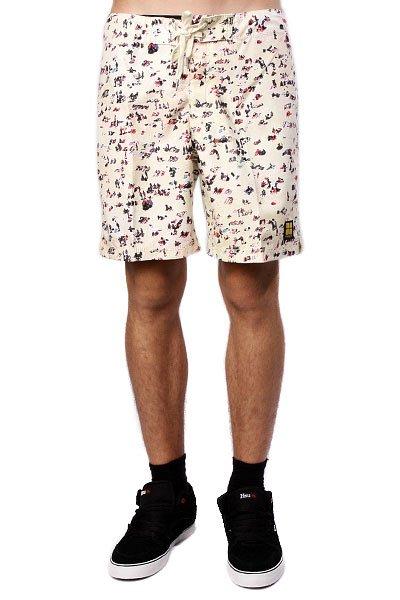Пляжные мужские шорты Insight Wheres Wally Mid The Sand<br><br>Цвет: желтый<br>Тип: Шорты пляжные<br>Возраст: Взрослый<br>Пол: Мужской