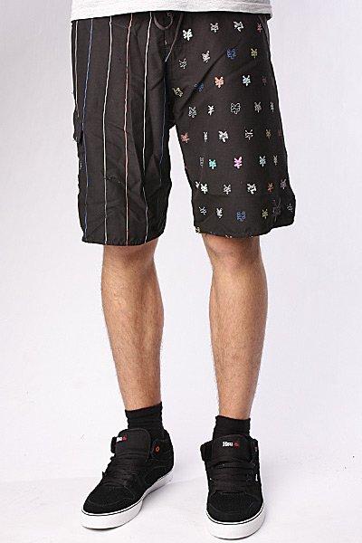 Пляжные мужские шорты Zoo York Tiny Crackers Black<br><br>Цвет: черный<br>Тип: Шорты<br>Возраст: Взрослый<br>Пол: Мужской
