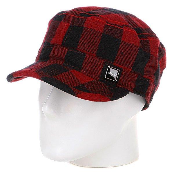 Бейсболка Globe Miquel Castro Cap Red<br><br>Цвет: красный<br>Тип: Бейсболка классическая<br>Возраст: Взрослый