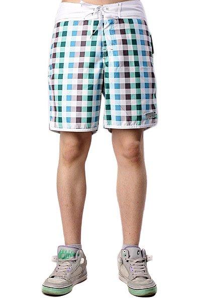Пляжные мужские шорты Globe Tablecloth Boardie Marine<br><br>Цвет: зеленый<br>Тип: Шорты пляжные<br>Возраст: Взрослый<br>Пол: Мужской