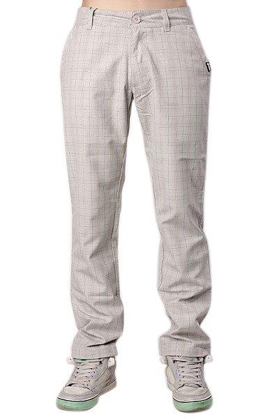 Штаны прямые Globe Karo Pant Grey