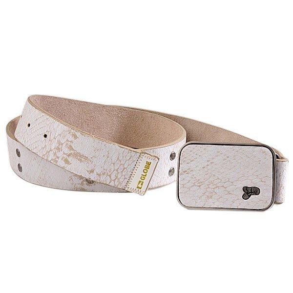 Ремень Globe Sabaton Belt White<br><br>Цвет: белый<br>Тип: Ремень<br>Возраст: Взрослый<br>Пол: Мужской