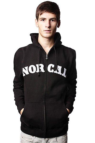 купить Толстовка Nor Cal Nautical Applique Black по цене 5460 рублей