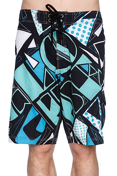 Пляжные мужские шорты Globe Fire Cracker Boardie Black шорты женские oakley flip top boardie pool blue