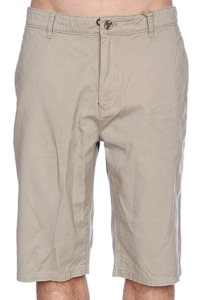 Классические мужские шорты Independent Freil Chino Desert<br><br>Цвет: бежевый<br>Тип: Шорты классические<br>Возраст: Взрослый<br>Пол: Мужской
