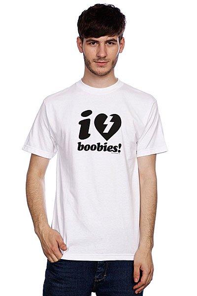 Футболка Mystery I Love Boobies White футболка mystery carlin junebug white
