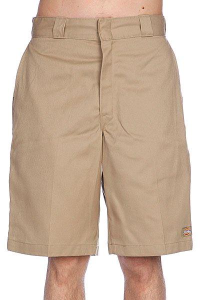 Классические мужские шорты Dickies 11 Twl Wk Short Khaki<br><br>Цвет: бежевый<br>Тип: Шорты классические<br>Возраст: Взрослый<br>Пол: Мужской