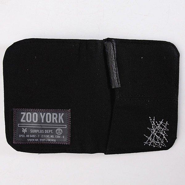 Кошелек Zoo York Distressed Black