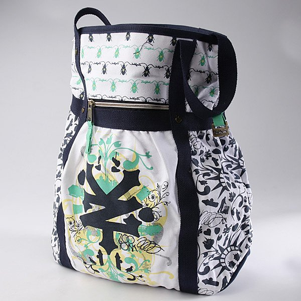 Сумка Zoo York Mix It Up Shopper Navy