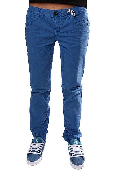Джинсы узкие женские Dickies Girls Strockey 4 Skinny Beaming Blue<br><br>Цвет: синий<br>Тип: Джинсы узкие<br>Возраст: Взрослый<br>Пол: Женский
