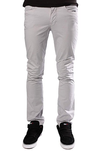 Штаны прямые Dickies Spoon Skinny Fit Pant Solid Grey