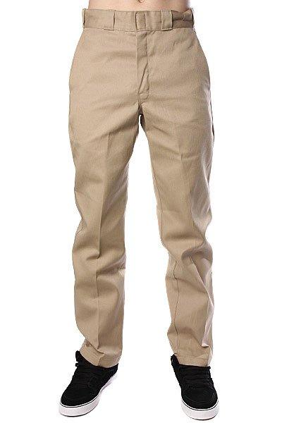 Штаны Dickies 874 Work Pant Khaki<br><br>Цвет: бежевый<br>Тип: Штаны прямые<br>Возраст: Взрослый<br>Пол: Мужской