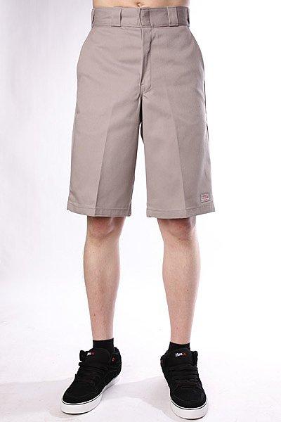 Классические Классические мужские шорты Dickies 13 Work Short Silver Grey от Proskater