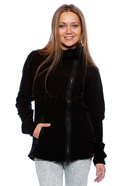 Толстовка женская Dickies Xenia 1000 Black<br><br>Цвет: черный<br>Тип: Толстовка классическая<br>Возраст: Взрослый<br>Пол: Женский