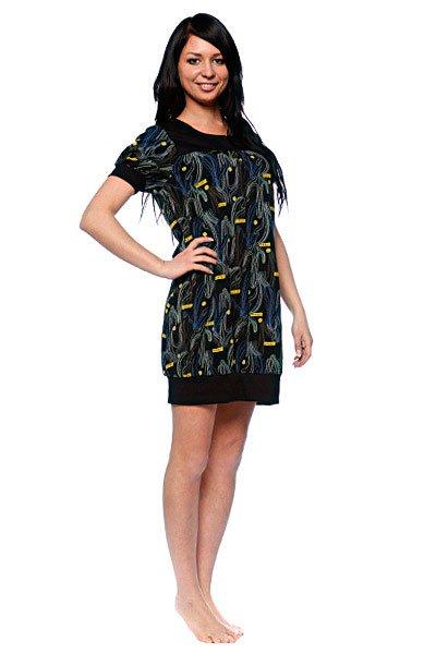 Платье женское Dickies Tionne Dress BlackМилое легкое платье лаконичного кроя, дополненное принтом на груди, готово стать выигрышным вариантом для похода на вечеринку или для непринужденной прогулки по городу. Характеристики:Принт по всей поверхности. Эластичный манжет на подоле.Рукав-«фонарик».<br><br>Цвет: черный<br>Тип: Платье<br>Возраст: Взрослый<br>Пол: Женский