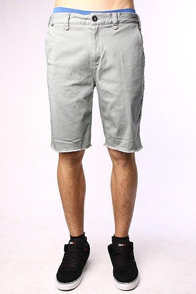Джинсовые мужские шорты Fallen Jt Sig Chino Short Slate Grey шорты джинсовые fallen winslow short indigo black
