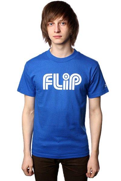 Футболка Flip Tube Royal Blue<br><br>Цвет: синий<br>Тип: Футболка<br>Возраст: Взрослый<br>Пол: Мужской